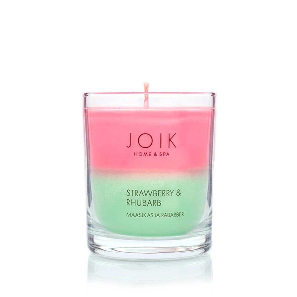 JOIK geurkaars Strawberry & rhubarb
