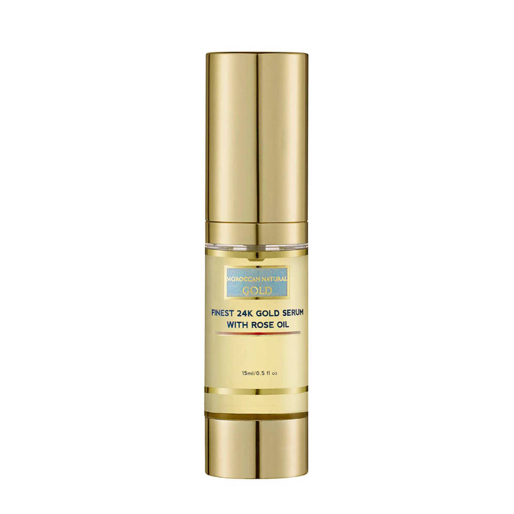 Moroccan Natural Finest 24K gold serum met rosenolie
