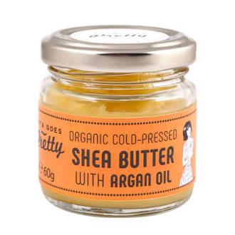 Shea & argan butter - cold-pressed & organic