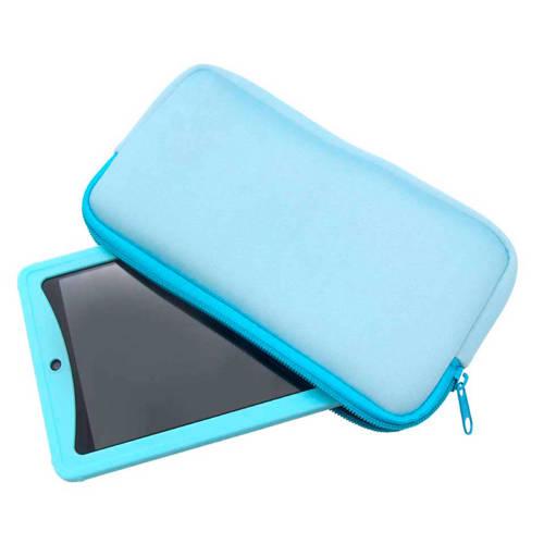 Kurio tablet hoes 7 inch lichtblauw