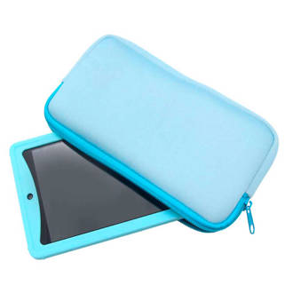 tablet hoes 7 inch lichtblauw