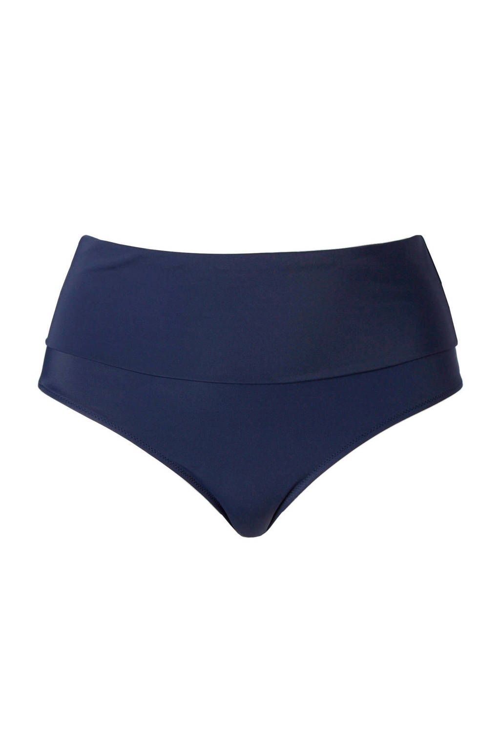 Zizzi Mix & Match corrigerende omslag bikinibroekje +size donkerblauw, Donkerblauw