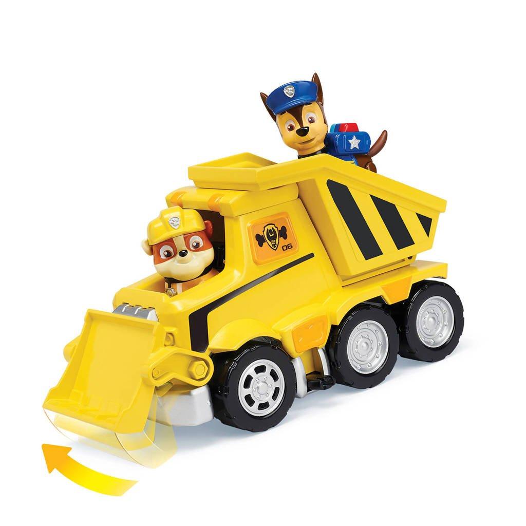 Paw Patrol  Ultimate Rescue bulldozer Rubble, Geel
