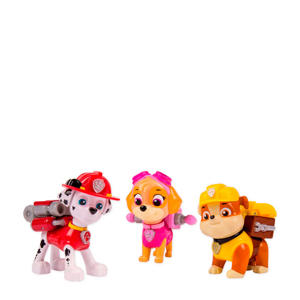 action pack pup set (Marshall, Skye & Rubble)
