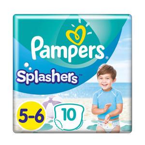 Splashers maat 5-6 (14+ kg) 10 wegwerpbare zwemluiers