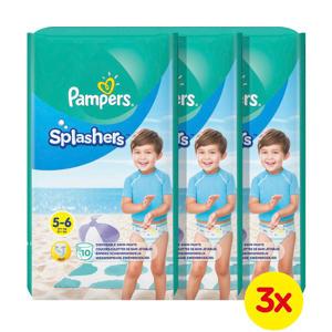 Splashers maat 5-6 (14+ kg) 30 wegwerpbare zwemluiers