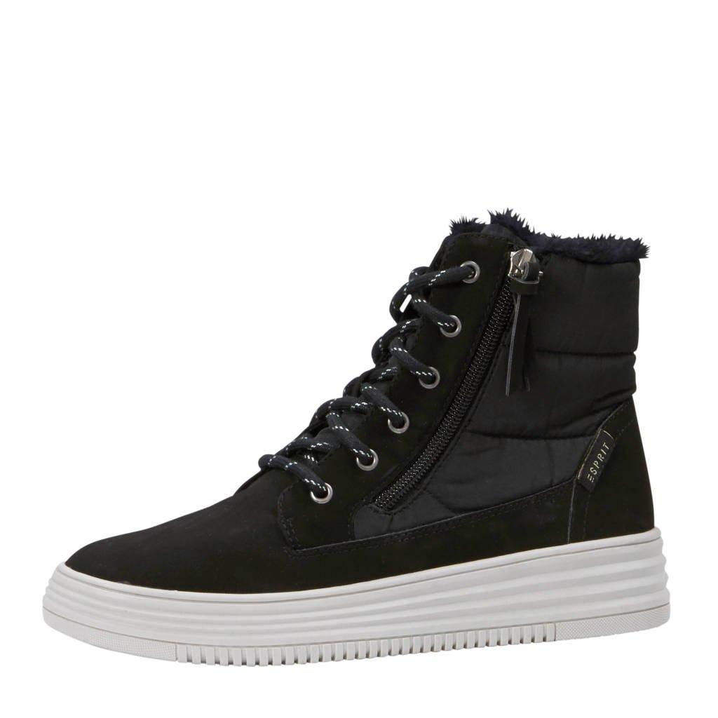 ESPRIT  sneakers Luni zwart, Zwart