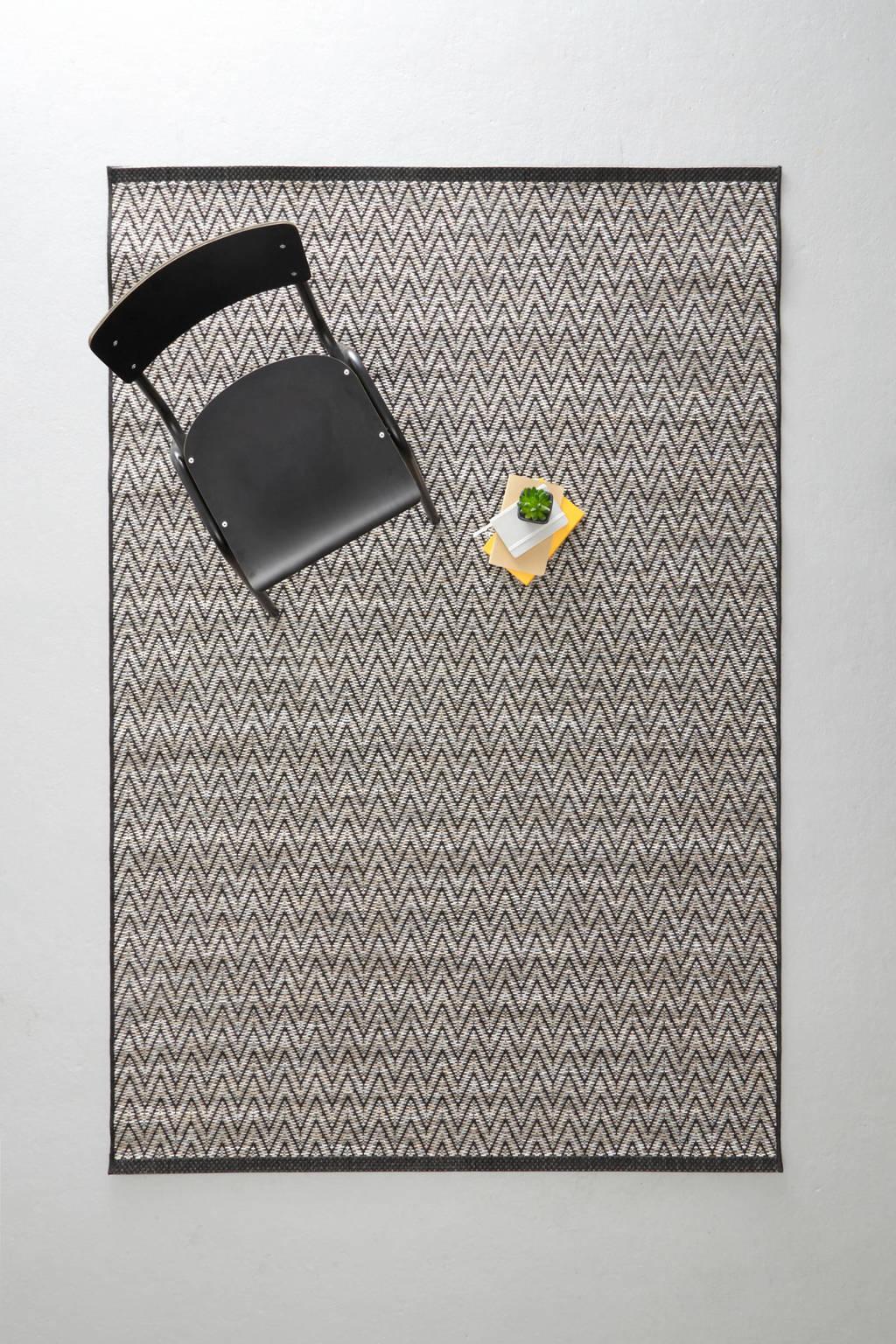 whkmp's own vloerkleed  (230x160 cm), Zwart/grijs