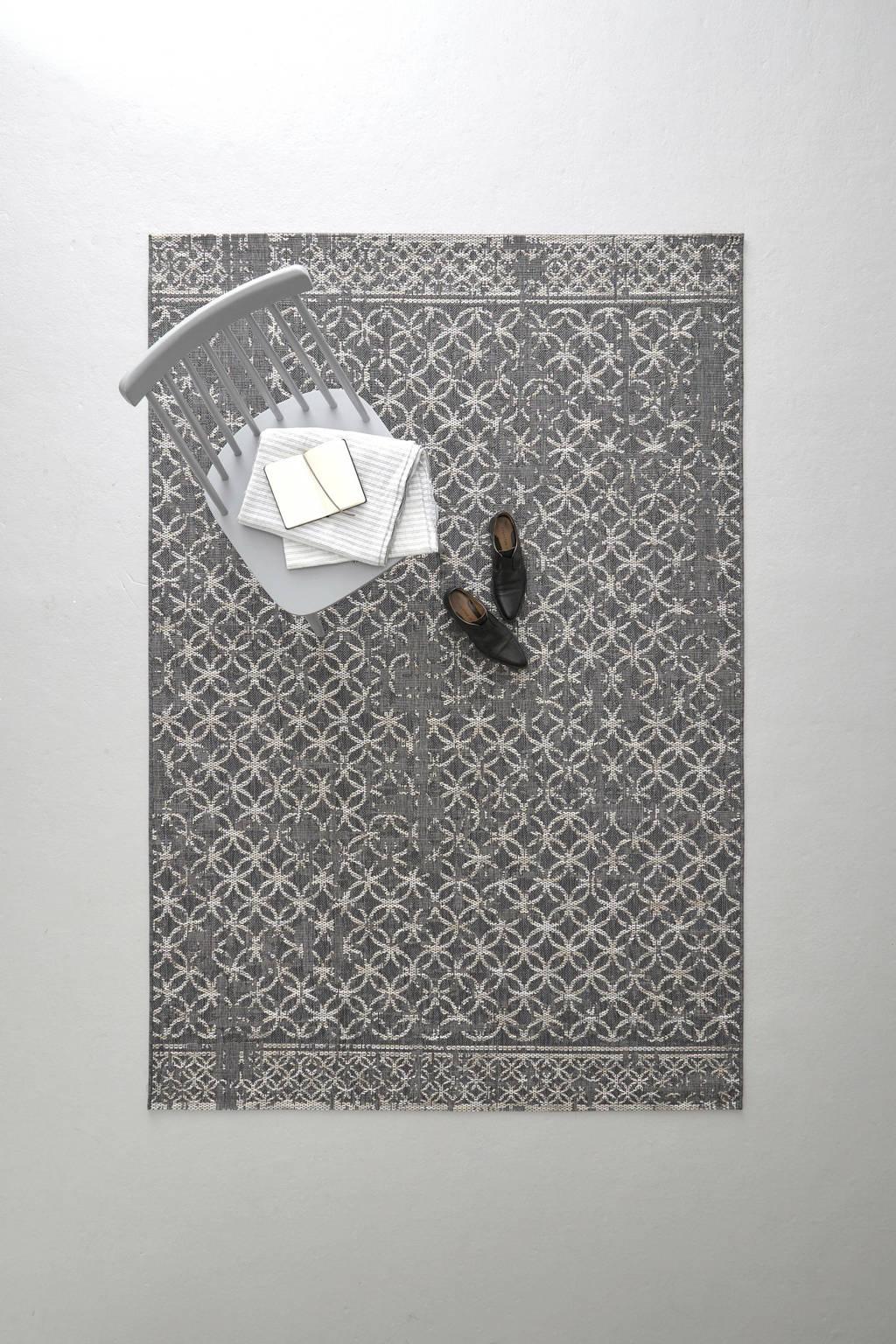 whkmp's own vloerkleed  (230x160 cm), Antraciet/grijs