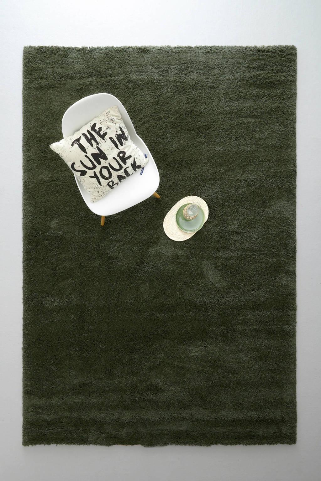 whkmp's own vloerkleed  (290x200 cm), Donkergroen