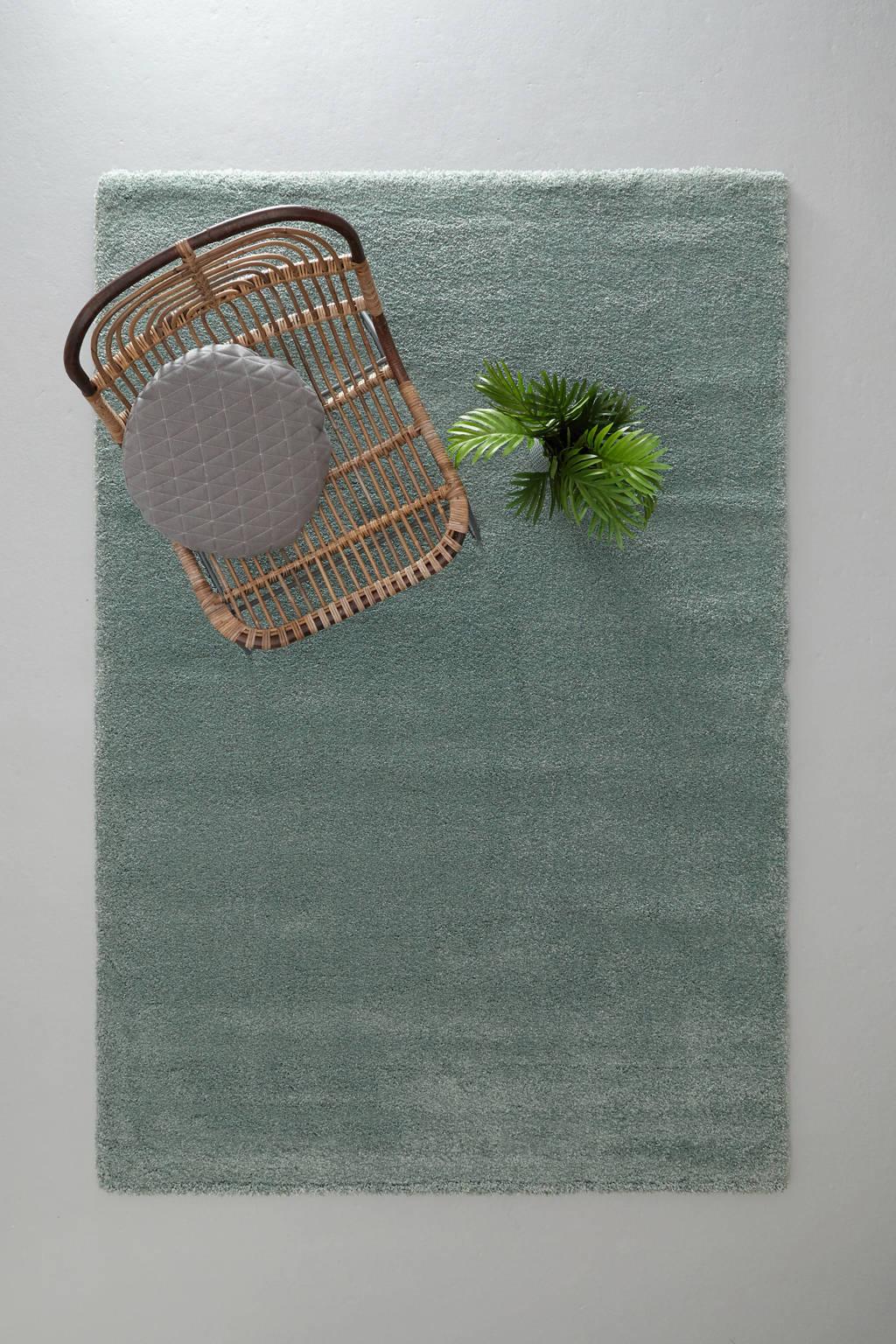 whkmp's own vloerkleed  (230x160 cm), Zeegroen