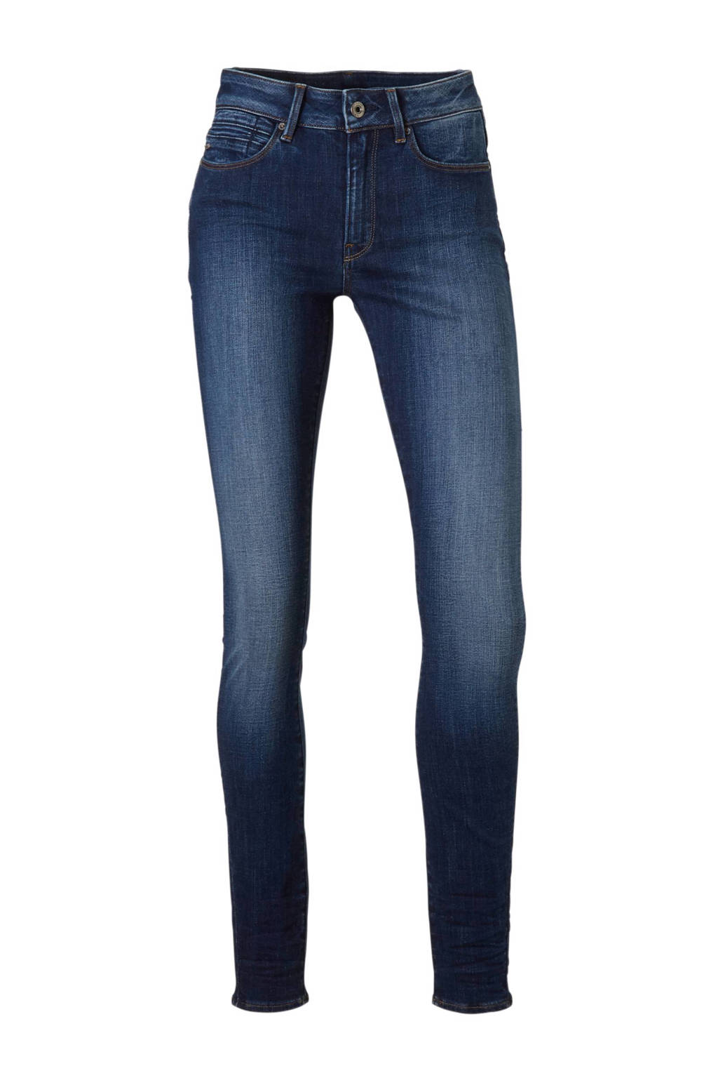 G-Star RAW Shape high super skinny fit jeans, Blauw