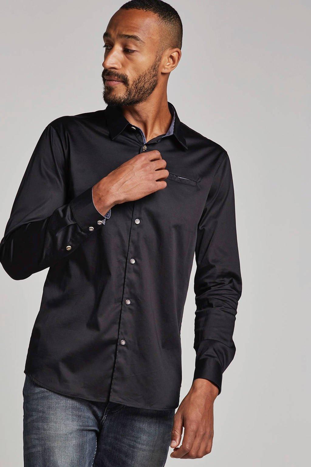 No Excess overhemd, Zwart