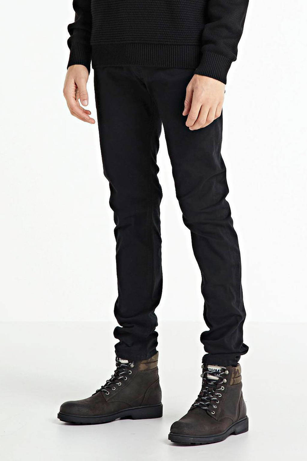 Diesel slim fit jeans Sleenker zwart, Zwart