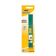 HB potloden met puntenslijper en gum