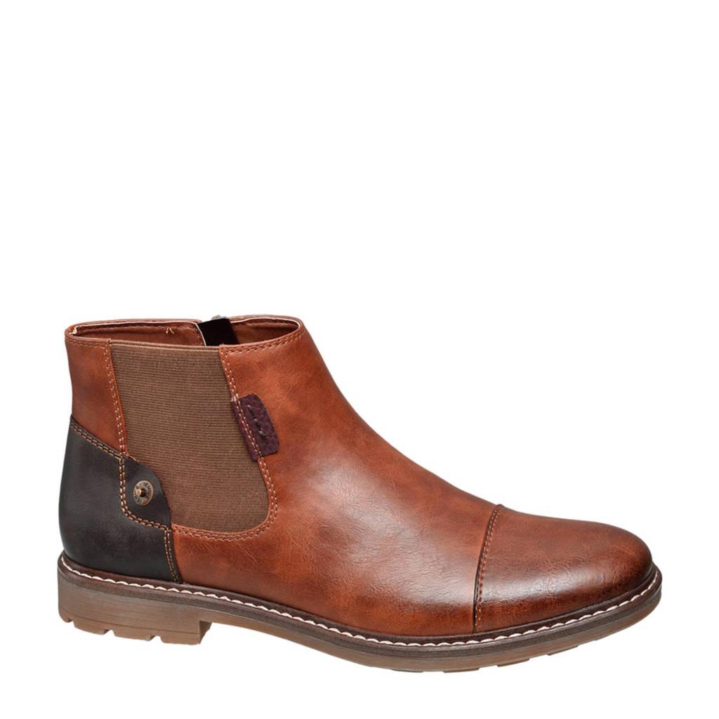 vanHaren Venice chelsea boots bruin, Bruin