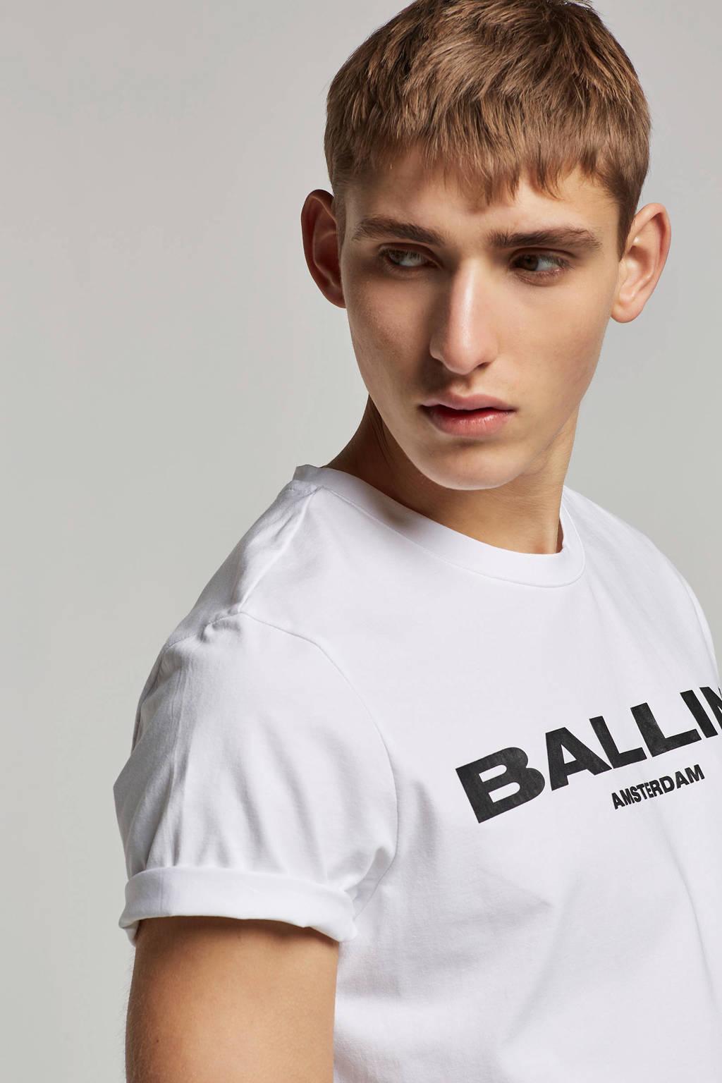 Ballin by Purewhite t-shirt Ballin Original, Wit