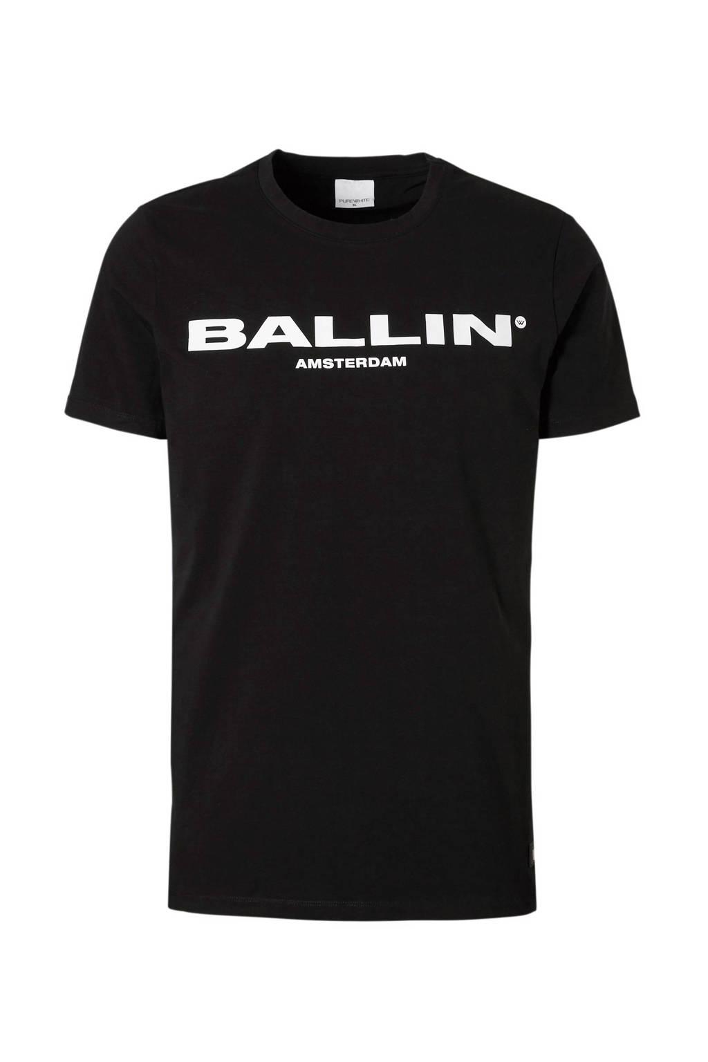 Ballin by Purewhite t-shirt Ballin Original, Zwart/wit