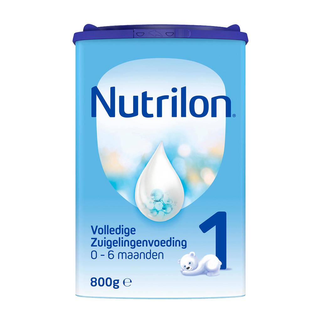 Nutrilon  1 Volledige Zuigelingenvoeding - flesvoeding - 0-6 maanden - 800 gram