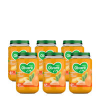 Olvarit babyvoeding pompoen zalm aardappel 6+ mnd (6 x 200 gram)