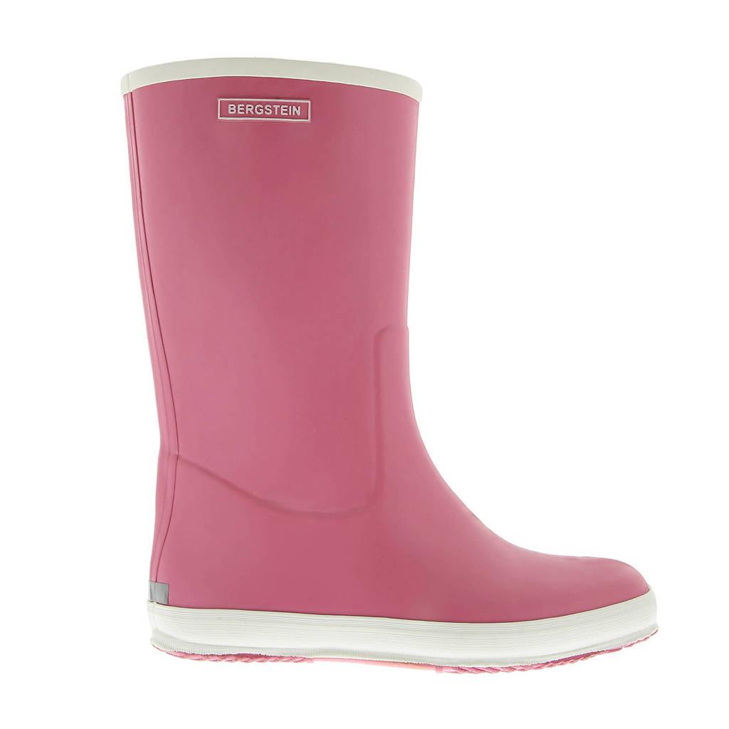 Bergstein regenlaarzen roze, Roze/wit