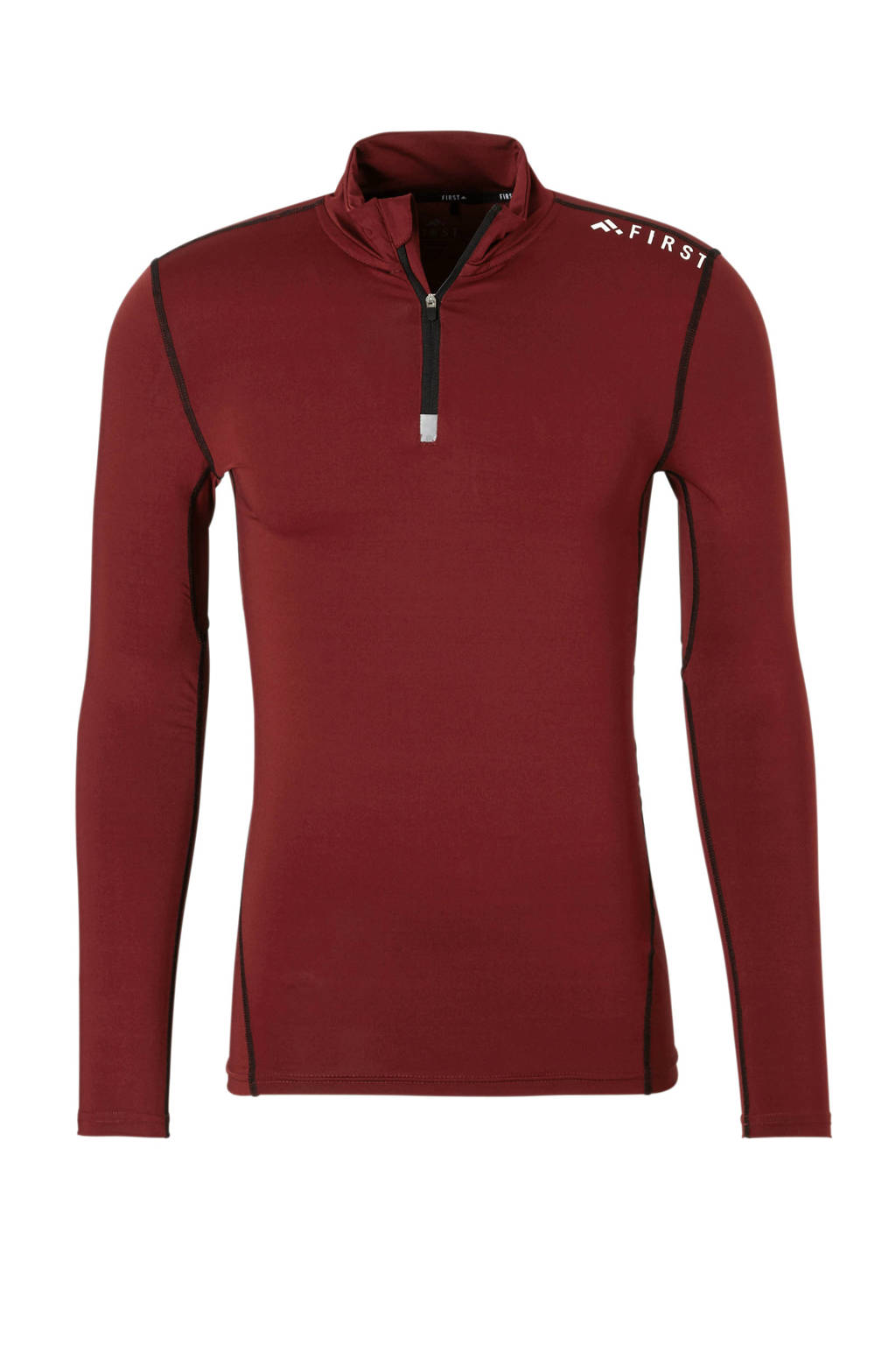 First   sport T-shirt rood, Rood