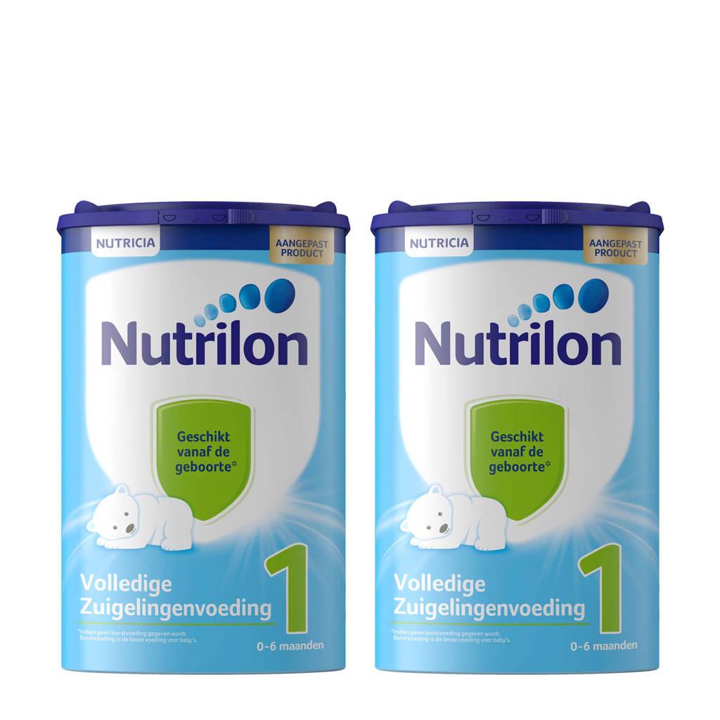 Nutrilon Standaard 1 volledige zuigelingenvoeding (2 stuks)