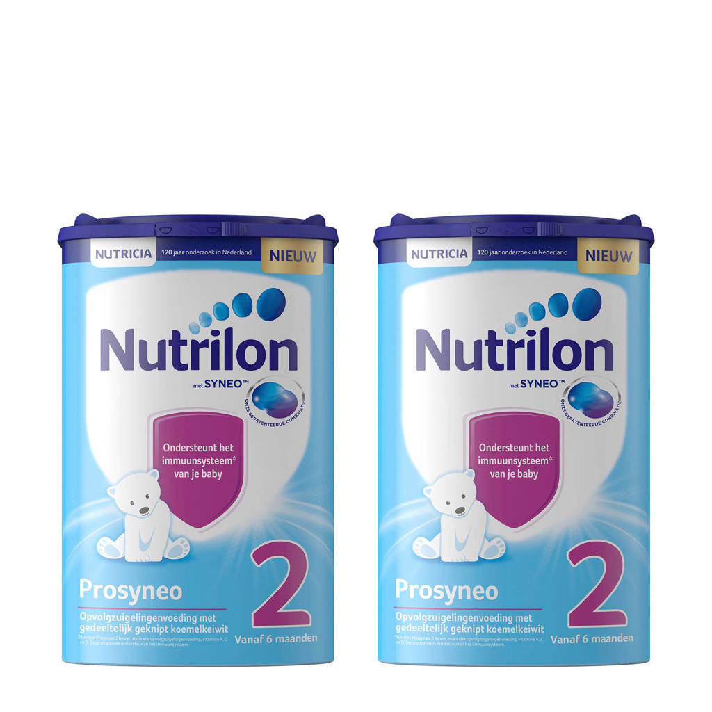Nutrilon Prosyneo 2 met Syneo™ opvolgmelk (2 stuks), 2 x 800 gram