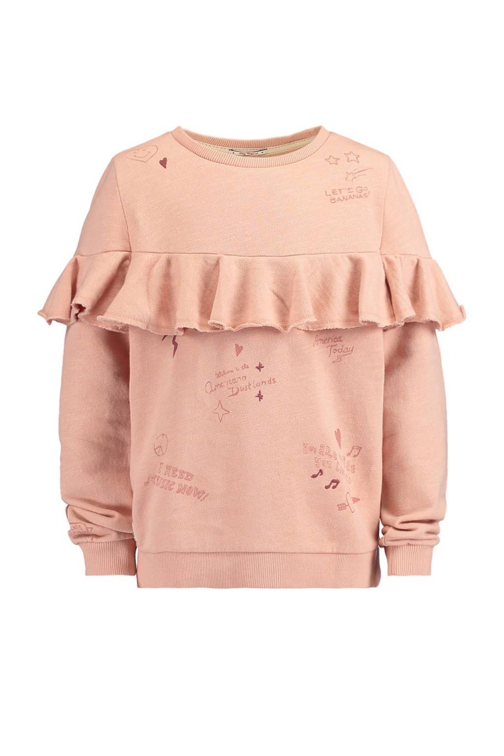 America Today Junior sweater Sanya, Roze