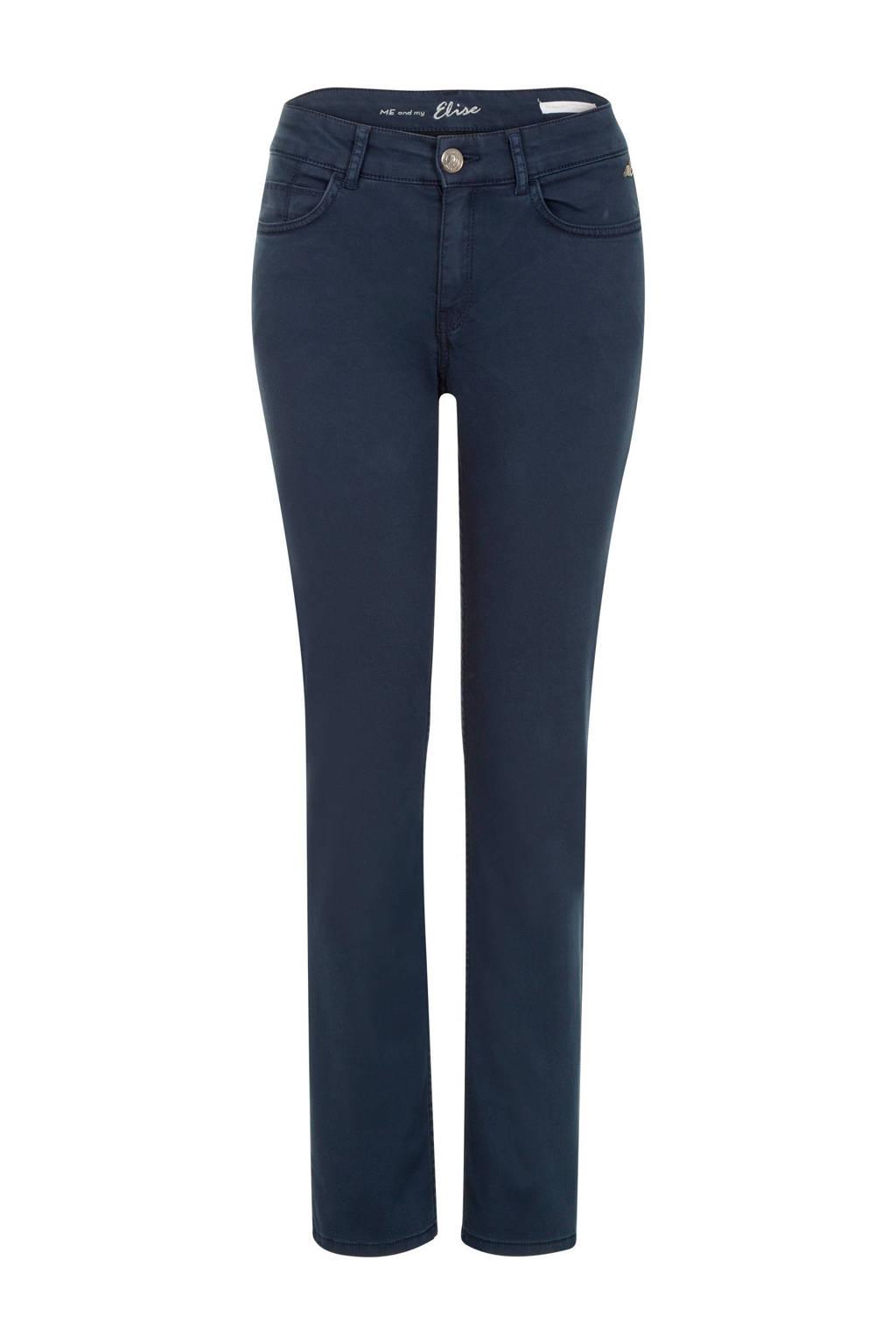 Miss Etam Regulier regular fit broek donkerblauw, Donkerblauw