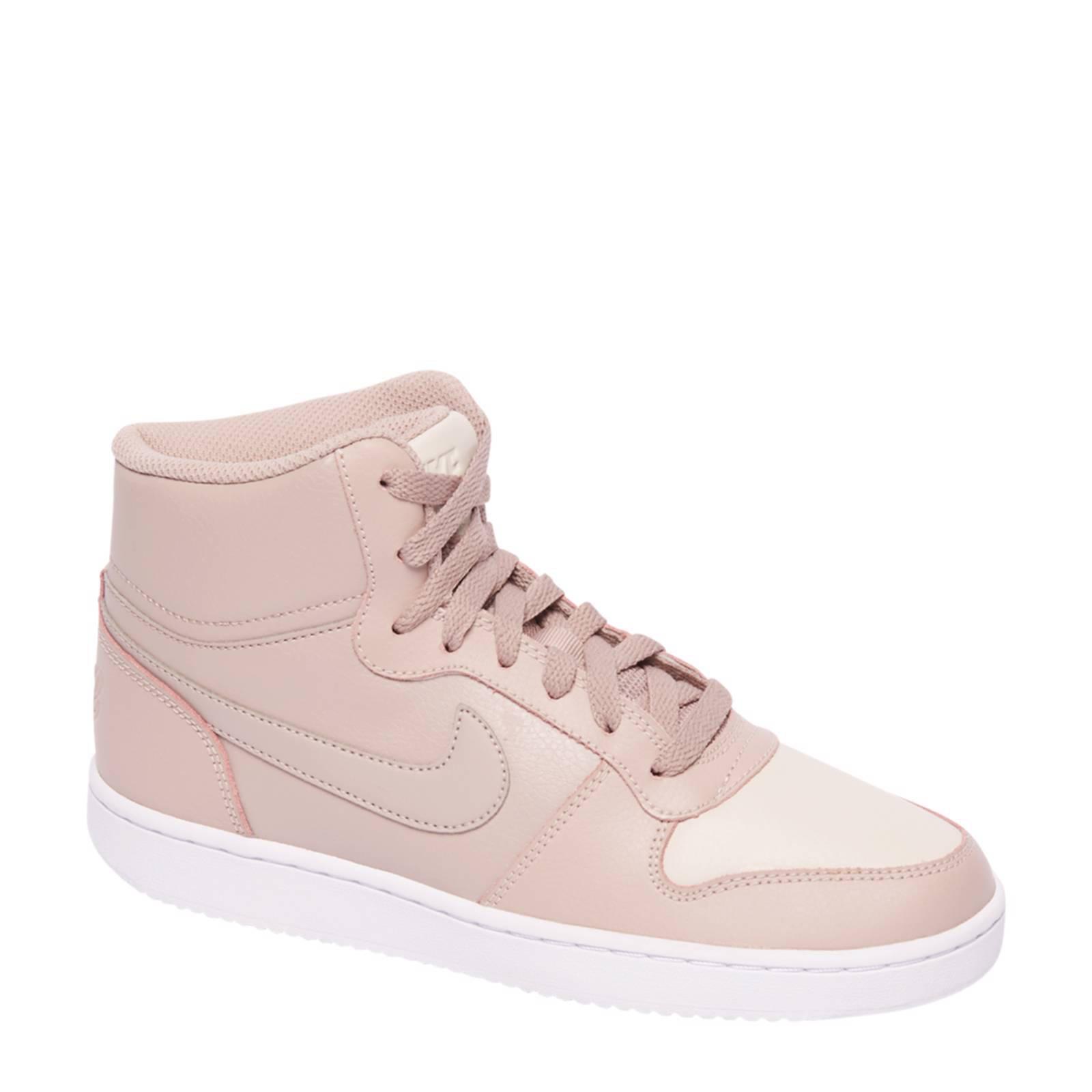 Nike Ebernon Mid sneakers beige   wehkamp