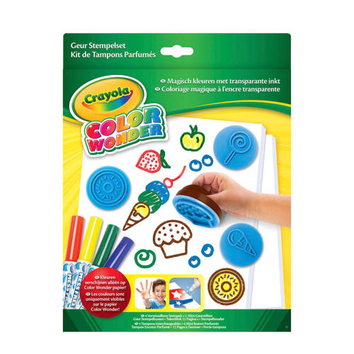 Crayola geur stempelset kopen