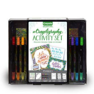 crayoligraphy set 40 stuks