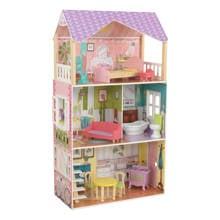 houten Poppy poppenhuis