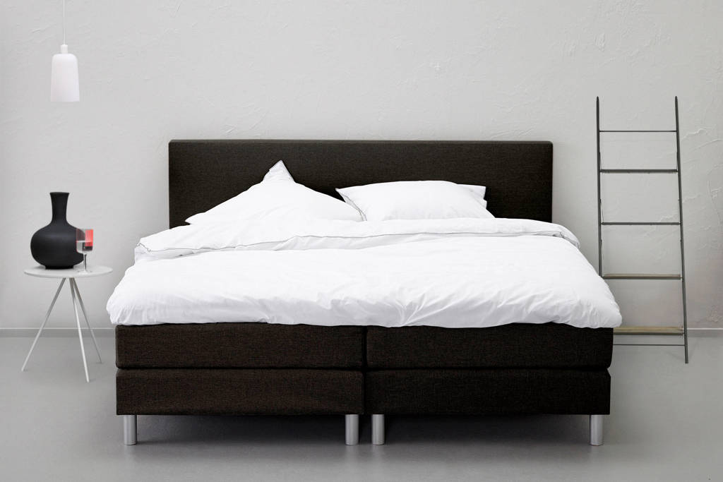 Beter Bed complete boxspring Cisano (180x200 cm), Zwart