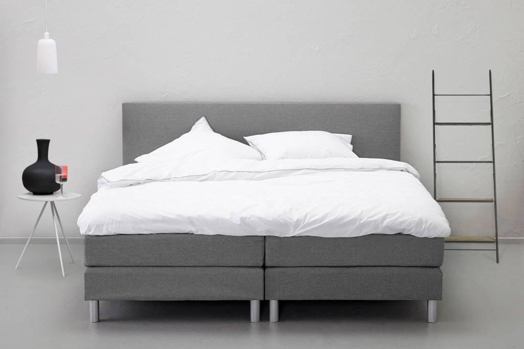 Beter Bed complete boxspring Cisano (140x200 cm), Lichtgrijs