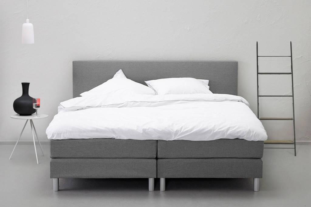 Beter Bed complete boxspring Cisano (140x210 cm), Lichtgrijs