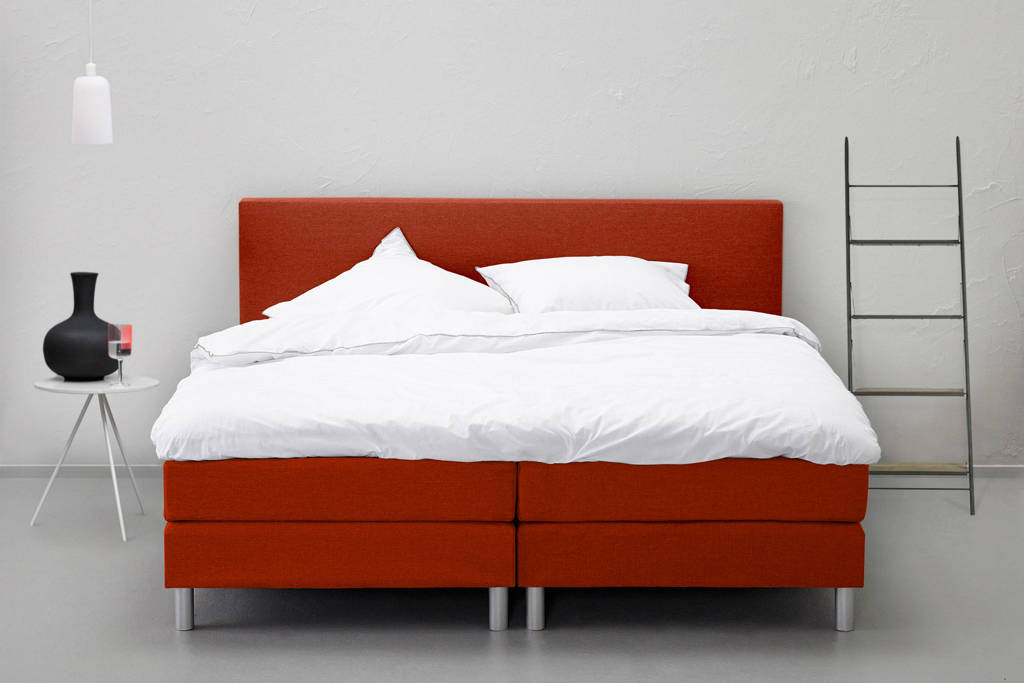 Beter Bed complete boxspring Cisano, Roestbruin