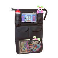 A3 Baby & Kids autostoel organizer met tablethouder, Zwart