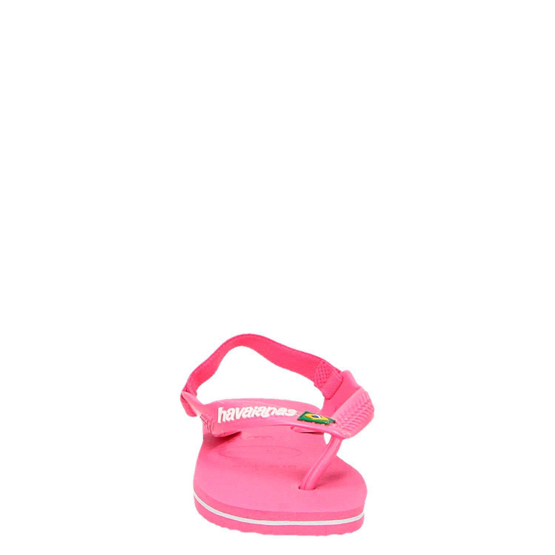 9bf7641fe43 Havaianas sandalen met logo roze   wehkamp