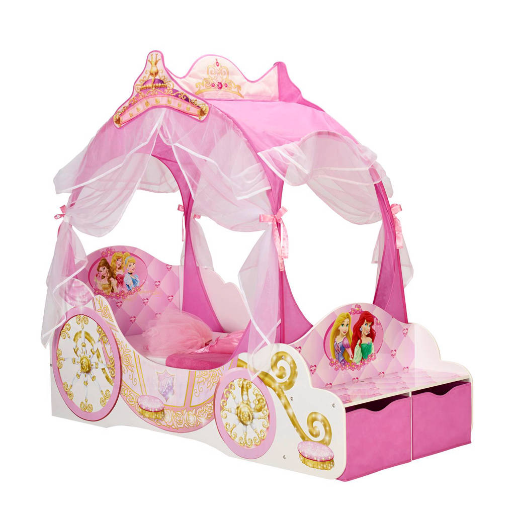 Disney Princess peuterbed koets Princess (70x140 cm), Roze