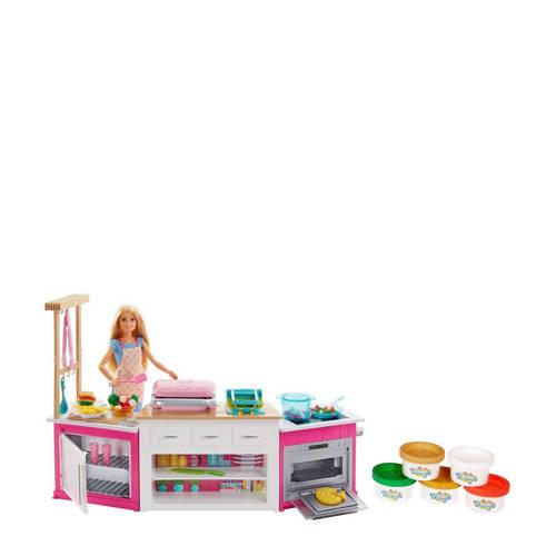 Barbie ultime keuken met pop kopen