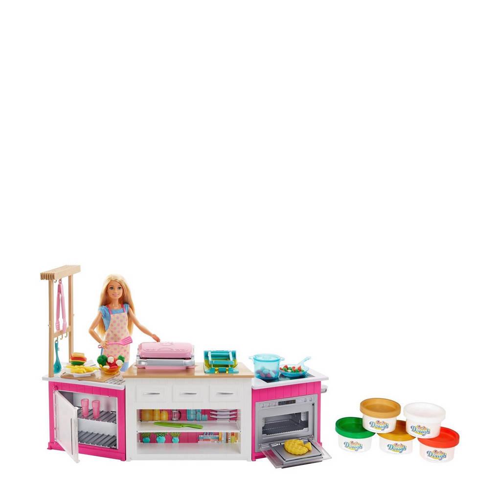 Barbie ultime keuken met pop