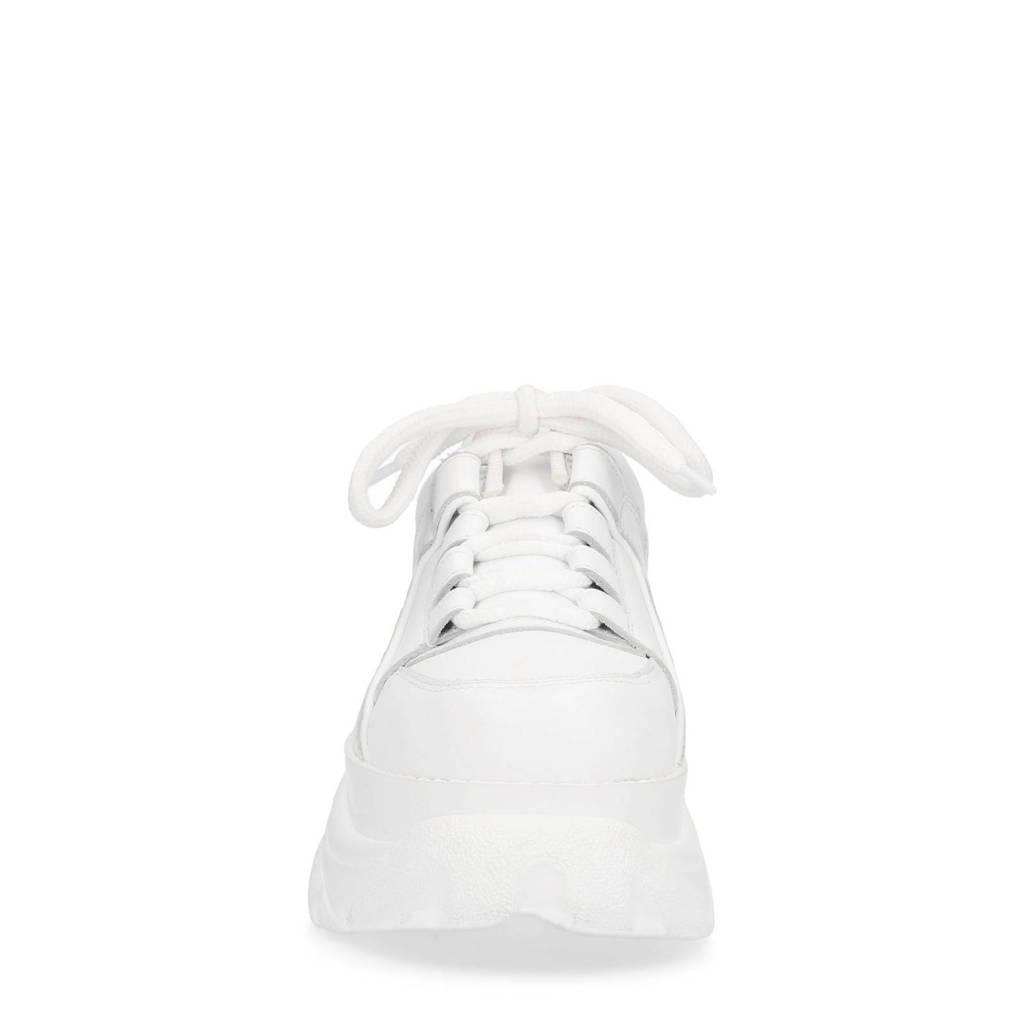 Sacha Wit Wit Sneakers Leren Sneakers Sacha Leren qrqHCw