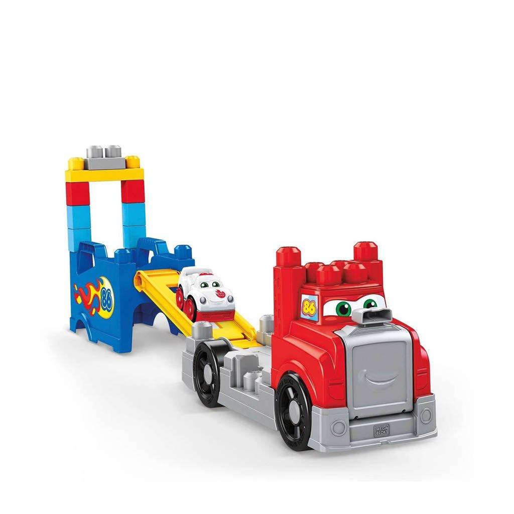 Fisher-Price Mega Bloks  First Builders bouw & race truck speelset