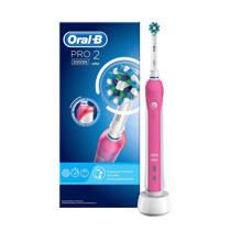 Oral-B PRO2 2000 Cross Action elektrische tandenborstel - pink