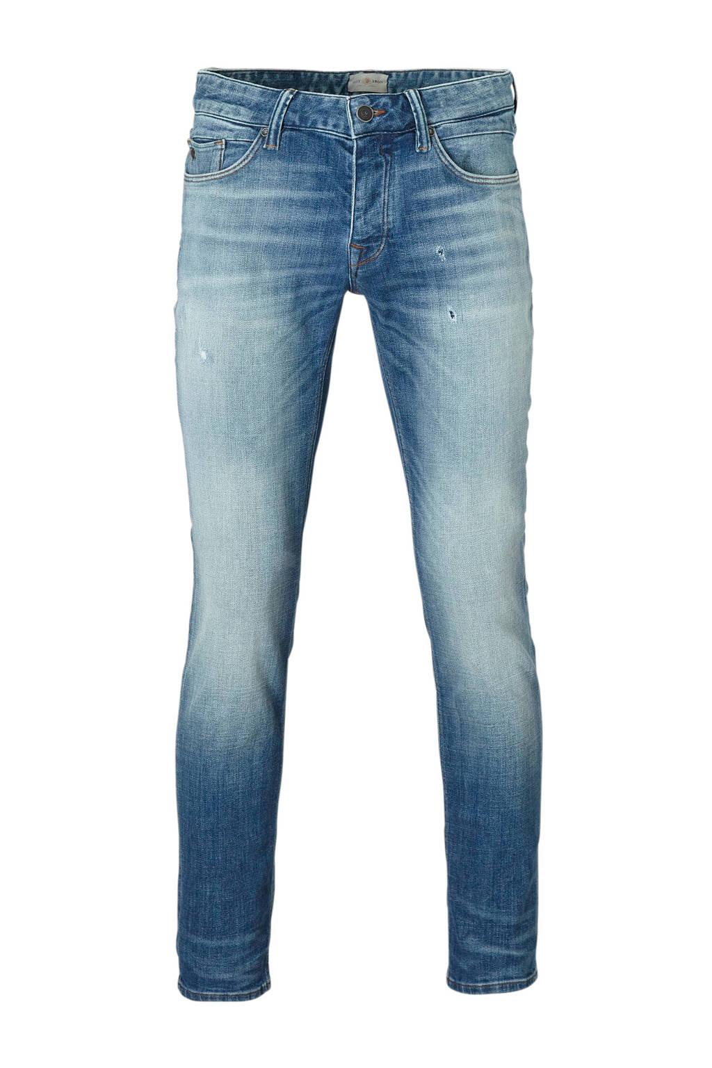Cast Iron slim fit jeans Riser, Light denim