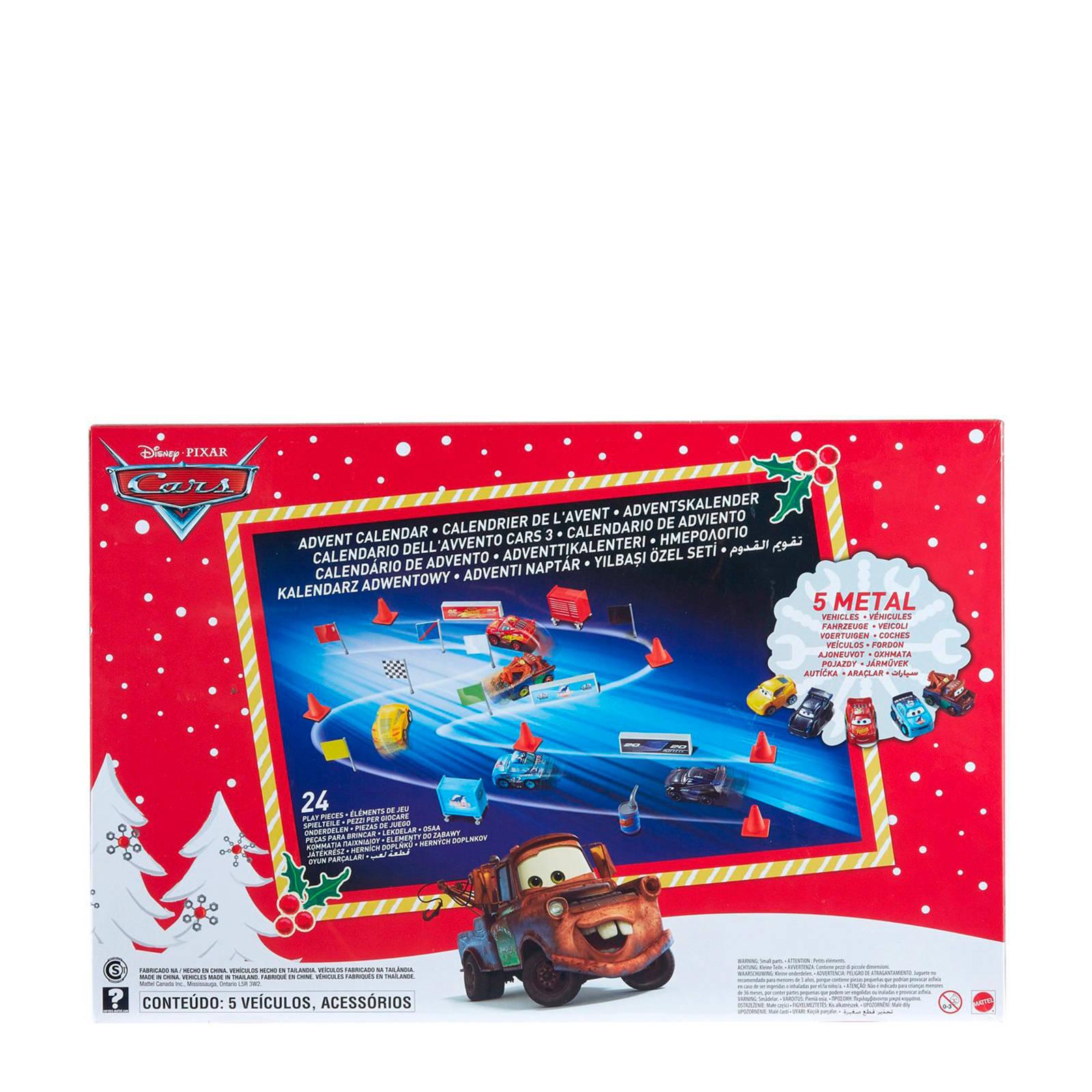 Cars Weihnachtskalender.Adventskalender