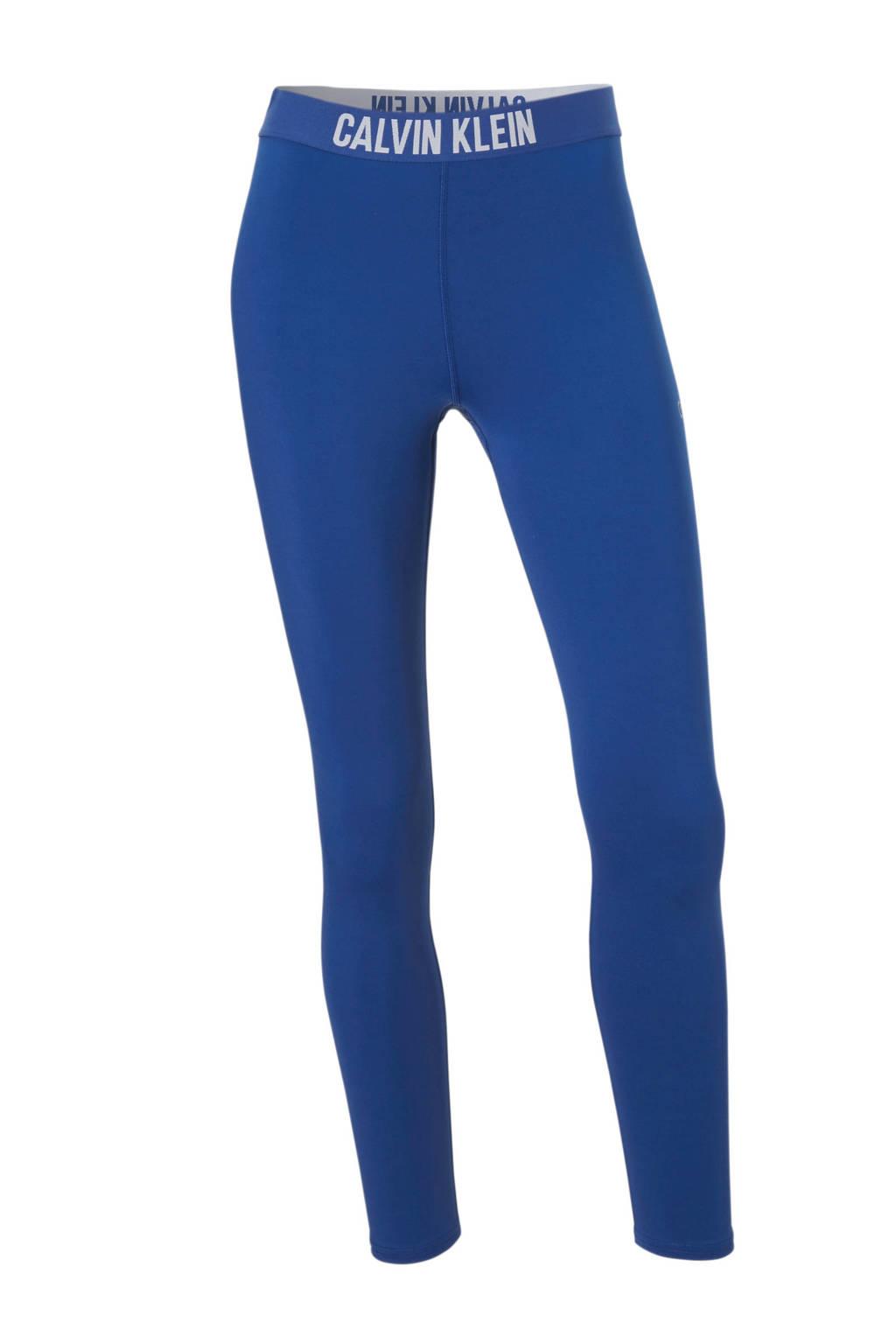 Calvin Klein Performance 7/8 leggging blauw, Blauw