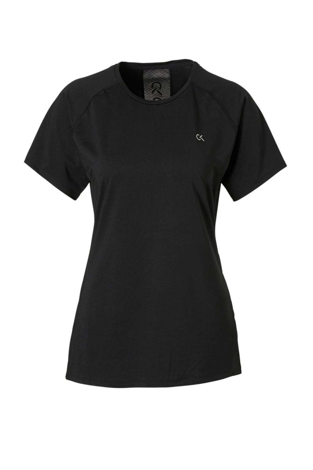 Calvin Klein Performance T-shirt zwart, Zwart